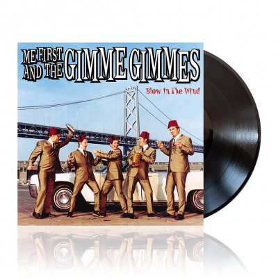 Me First And The Gimme Gimmes - Blow In The Wind | Black Vinyl