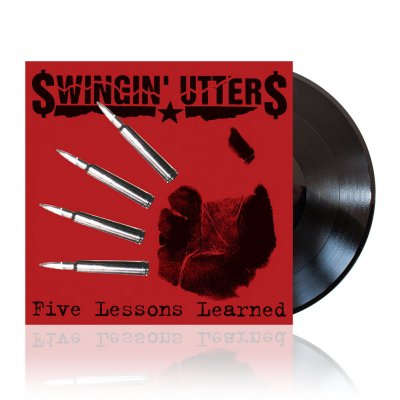 Swingin Utters - Five Lessons Learned | Black Vinyl