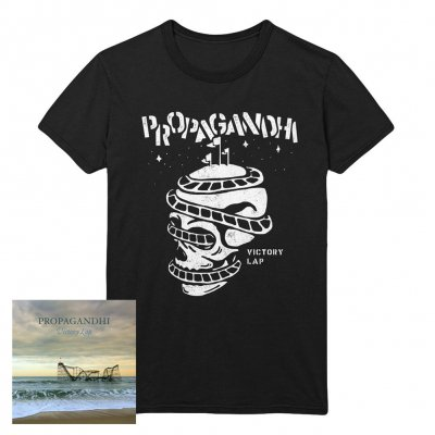 propagandhi - Victory Lap/Rollercoaster | CD+T-Shirt
