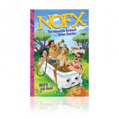 NOFX - Hepatitis Bathtub | Softcover Book