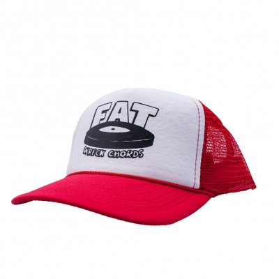 fat-wreck-chords - Logo | Trucker Cap Red