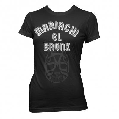Mariachi El Bronx - Luchador Flip Up | Fitted Girl T-Shirt