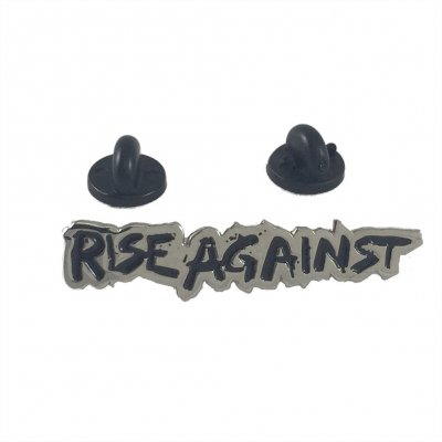rise-against - Logo | Enamel Pin