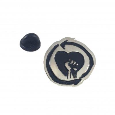 rise-against - Heart Fist   Enamel Pin
