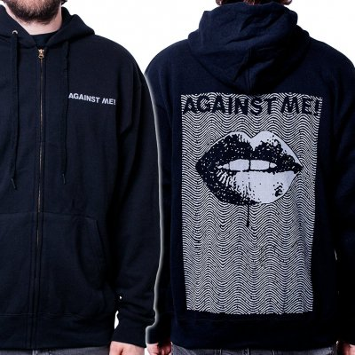against-me - Lips | Zip-Hood