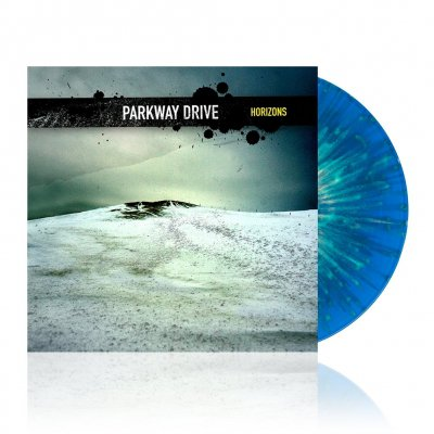 shop - Horizons | Blue w/Yellow Splatter Vinyl