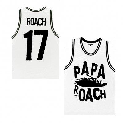 papa-roach - Classic Logo White | Basketball Jersey