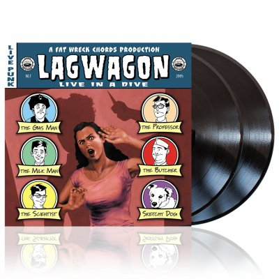 Lagwagon - Live In A Dive | 2xBlack Vinyl