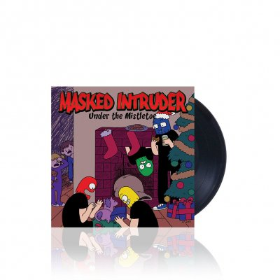 Masked Intruder - Under The Mistletoe | Black 7 Inch