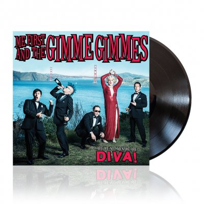 Me First And The Gimme Gimmes - Are We Not Men? | Black Vinyl