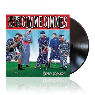 Me First And The Gimme Gimmes - Sing In Japanese | Black Vinyl