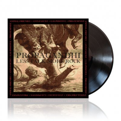 Propagandhi - Less Talk, More Rock | Black Vinyl