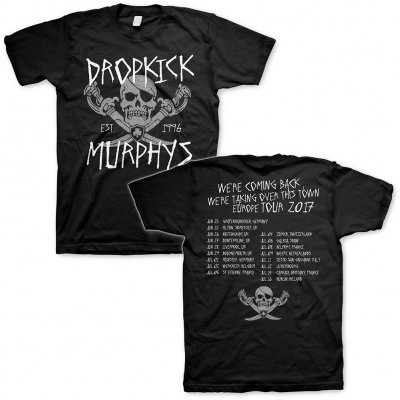 Dropkick Murphys - Jolly Roger Tour 2017 | T-Shirt
