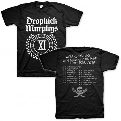 Dropkick Murphys - Short Stories Crest Tour 2017 | T-Shirt