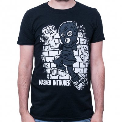 masked-intruder - Runner | T-Shirt
