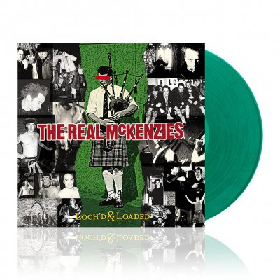 The Real McKenzies - Loch'd & Loaded | Transparent Green Vinyl
