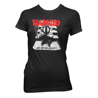 Rancid - And Out Come The Wolves | Fitted Girl T-Shirt
