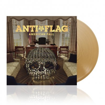 anti-flag - American Fall | Gold Vinyl