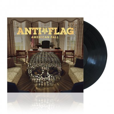 anti-flag - American Fall | Black Vinyl