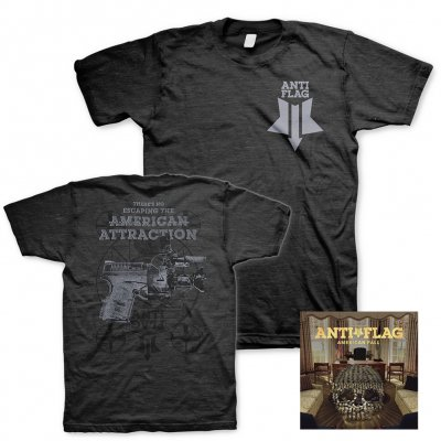 Anti-Flag - American Fall | CD + American Attraction T-Shirt Bundle