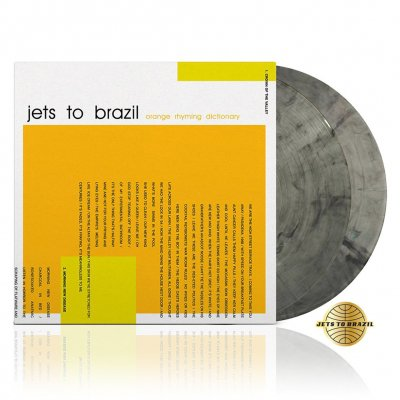 Jets To Brazil - Orange Rhyming Dictionary | 2xClear w/Black Vinyl