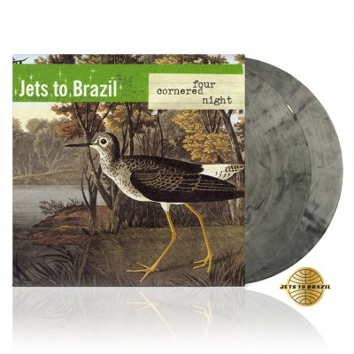Jets To Brazil - Four Cornered Night | 2xClear w/Black Vinyl