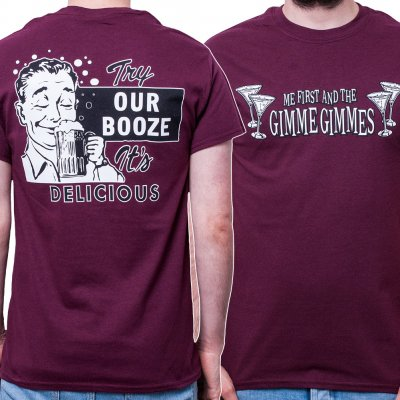 me-first-and-the-gimme-gimmes - Try Our Booze | T-Shirt