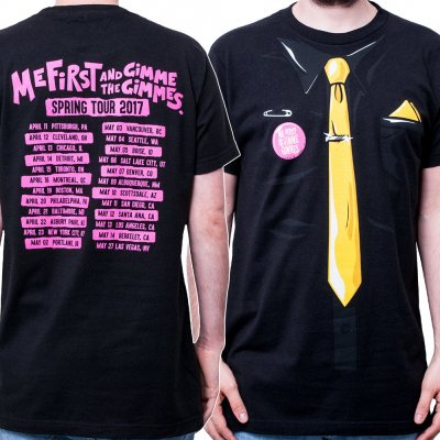 me-first-and-the-gimme-gimmes - Tie Tour 17 | T-Shirt