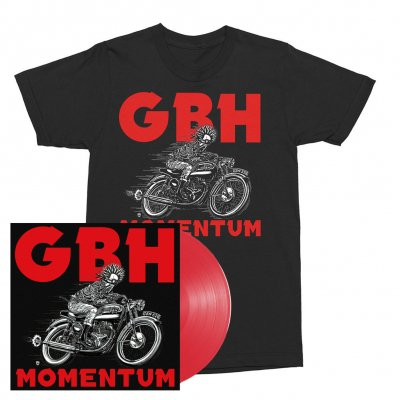 GBH - Momentum | Red Vinyl + T-Shirt Bundle