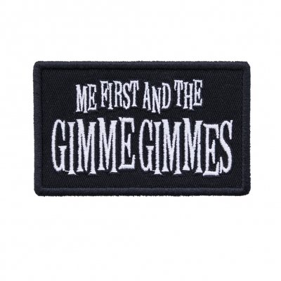 Me First And The Gimme Gimmes - Logo | Patch