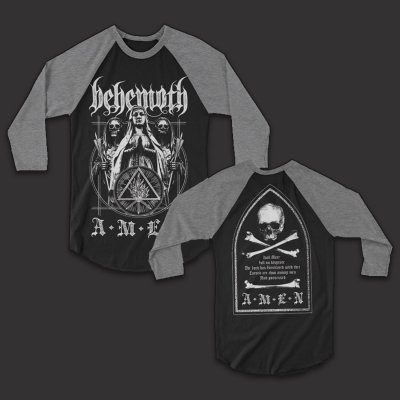 Behemoth - Amen | 3/4 Baseball Longsleeve