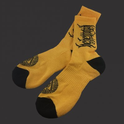 behemoth - Logo Gold | Socks