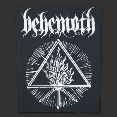 Behemoth - White Sigil | Backpatch