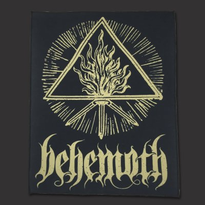 Behemoth - Gold Sigil | Backpatch
