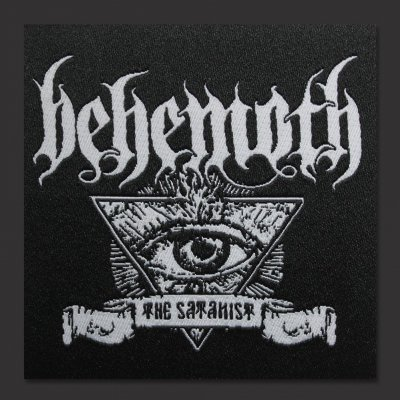 behemoth - The Satanist Banner | Patch