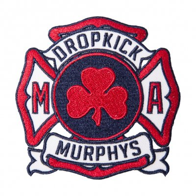 Dropkick Murphys - Service Red | Patch
