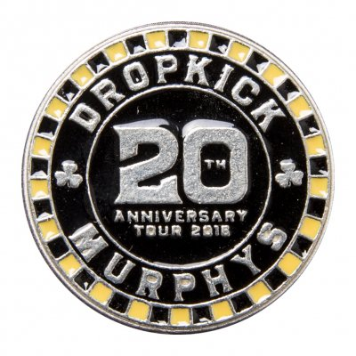 Dropkick Murphys - 20 Poker Chip | Enamel Pin