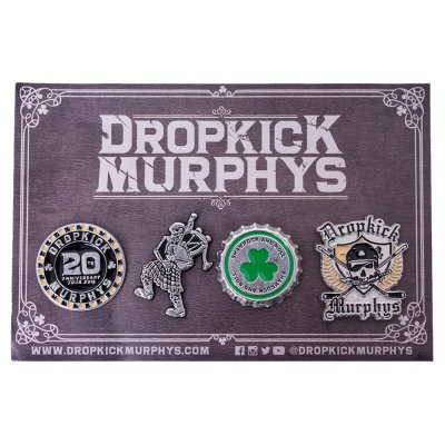 Dropkick Murphys - Set | Enamel Pin