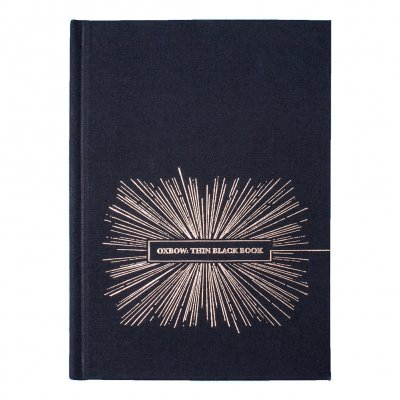 Oxbow - Thin Black Book | Book