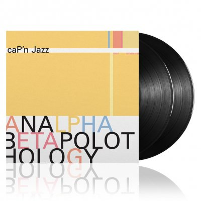 Cap'n Jazz - Analphabetapolothology | 2xBlack Vinyl
