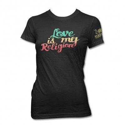 ziggy-marley - Love Is My New | Fitted Girl T-Shirt