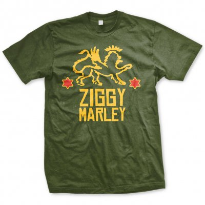 ziggy-marley - Red Star Lion | T-Shirt