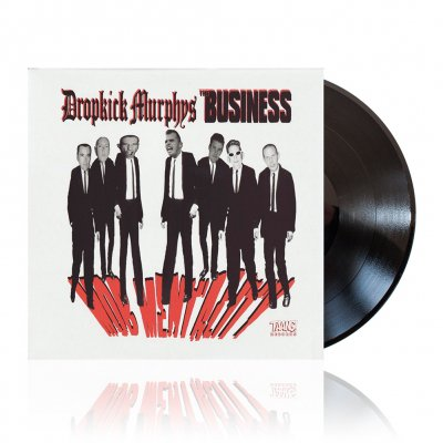 shop - w/The Business - Mob Mentality | Black Vinyl