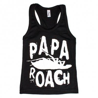 papa-roach - Classic Logo Black | Racerback Girl Tank