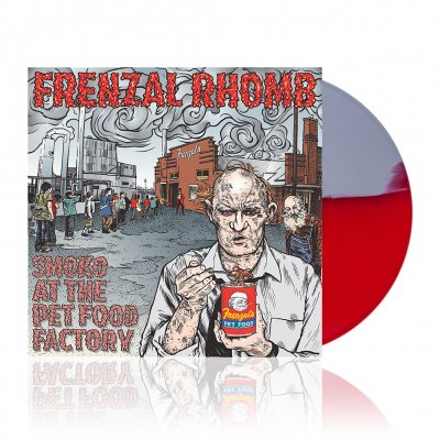 Frenzal Rhomb - Smoko at the Pet Food Factory | Red/Gray Vinyl