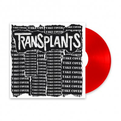 transplants - Take Cover | Red 12 Inch Vinyl EP