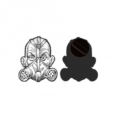 Transplants - Gas Mask | Enamel Pin