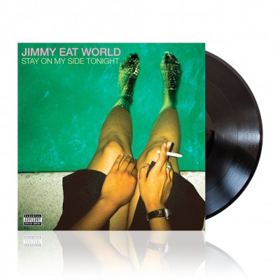Jimmy Eat World - Stay On My Side | Black Vinyl