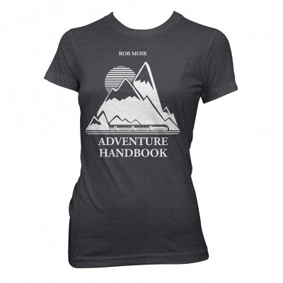 Rob Moir - Mountain | Girl Fitted T-Shirt