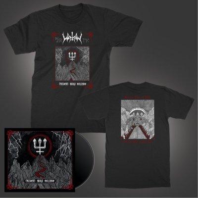 watain - Trident Wolf Eclipse | Limited CD Digi-Pack + T-Shirt Bundle